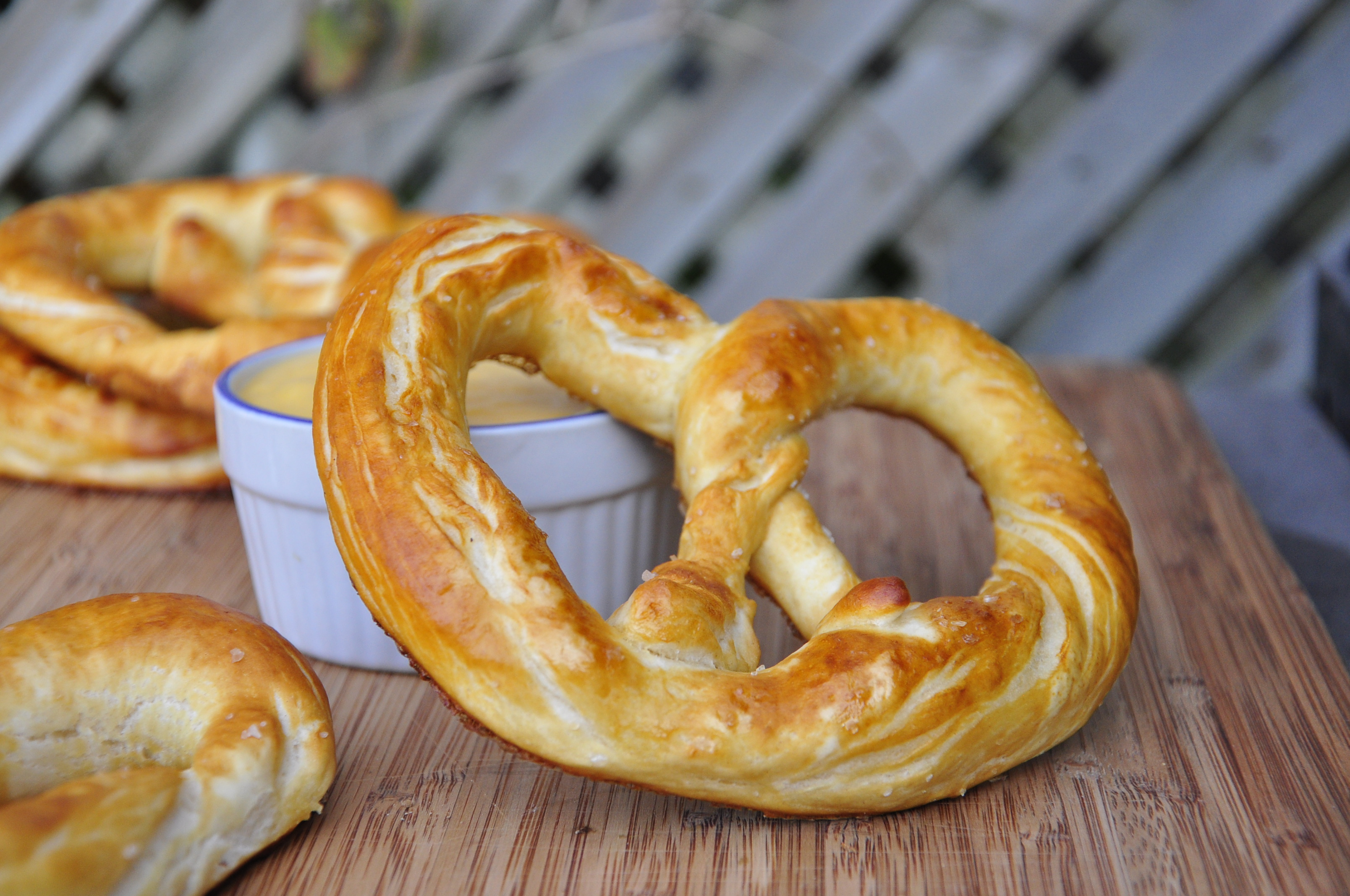 Homemade Soft Pretzels | the vegetarian ginger
