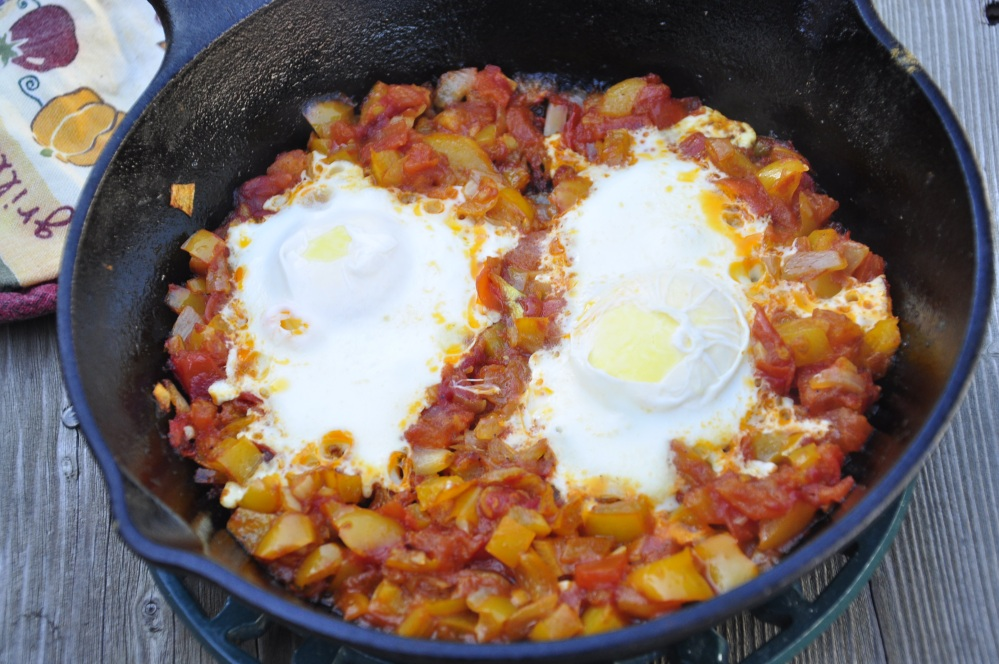 Close-up Shakshuka