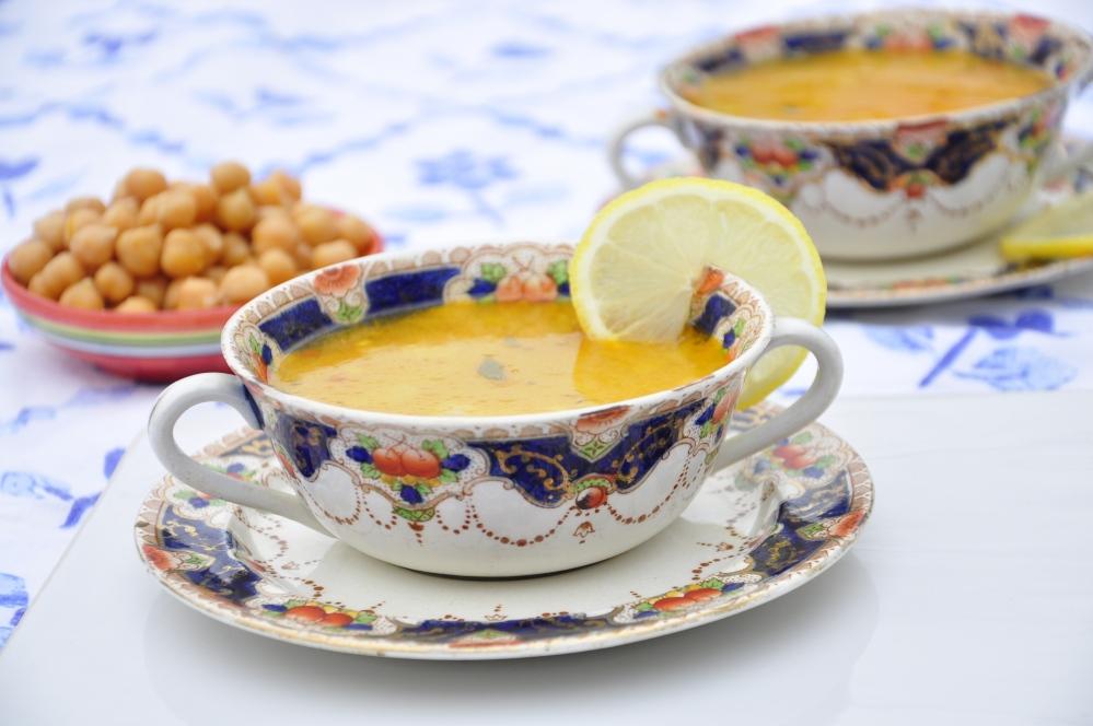 Cumin and sesame soup