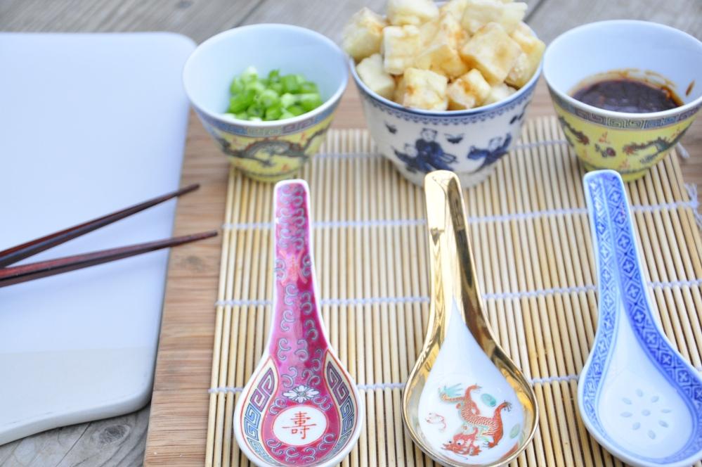 Agedashi Serving set