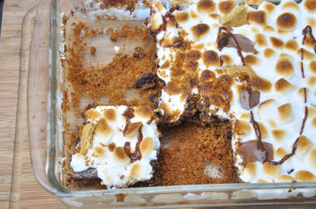 Bird's Eye S'more Brownies
