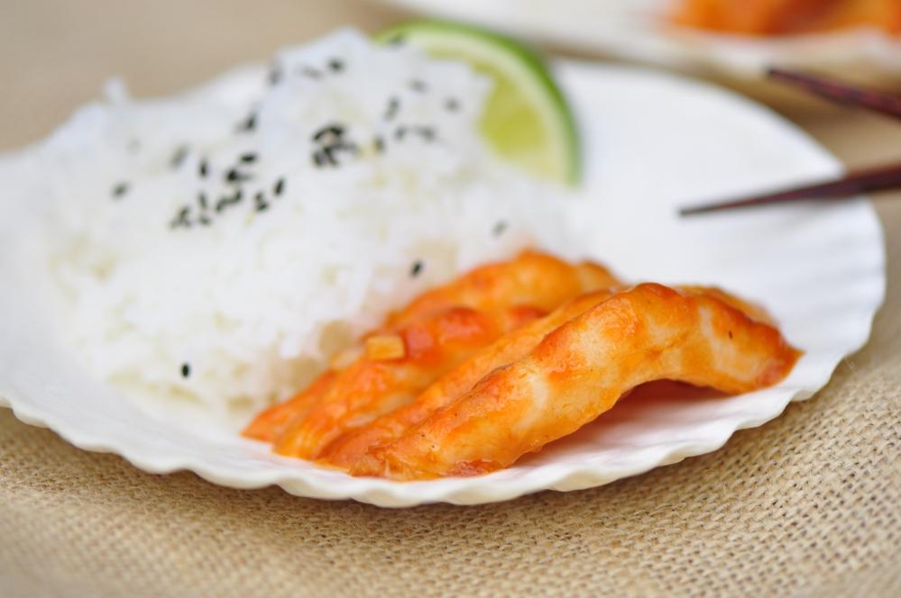 Vegan Szechuan Shrimp