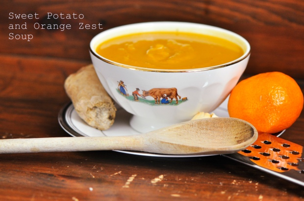 Sweet Potato and Orange Zest Soup