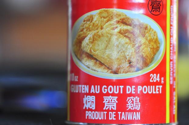 Can of Chicken-Flavoured Seitan