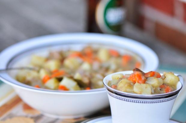 Seitan and Ale Stew