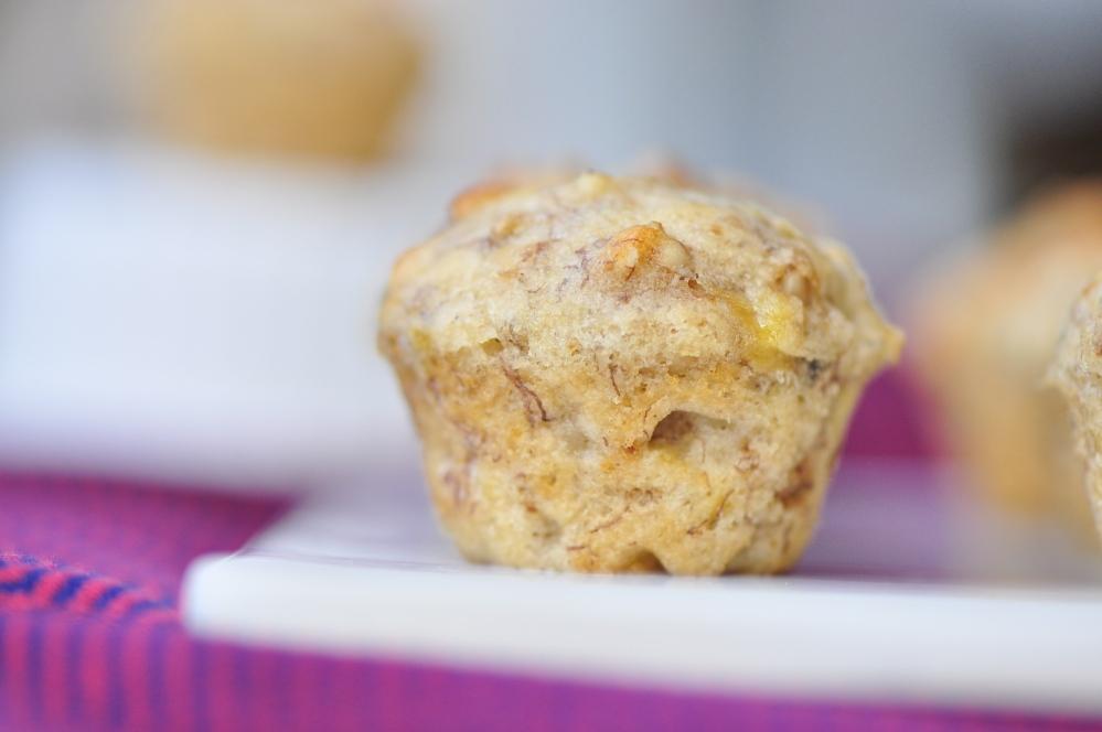 Mini Muffin Close-Up