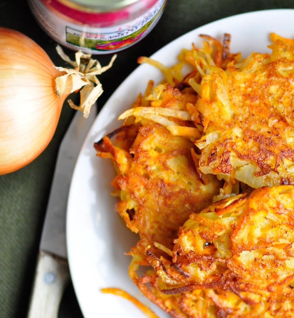 Gluten-Free Sweet Potato Latkes