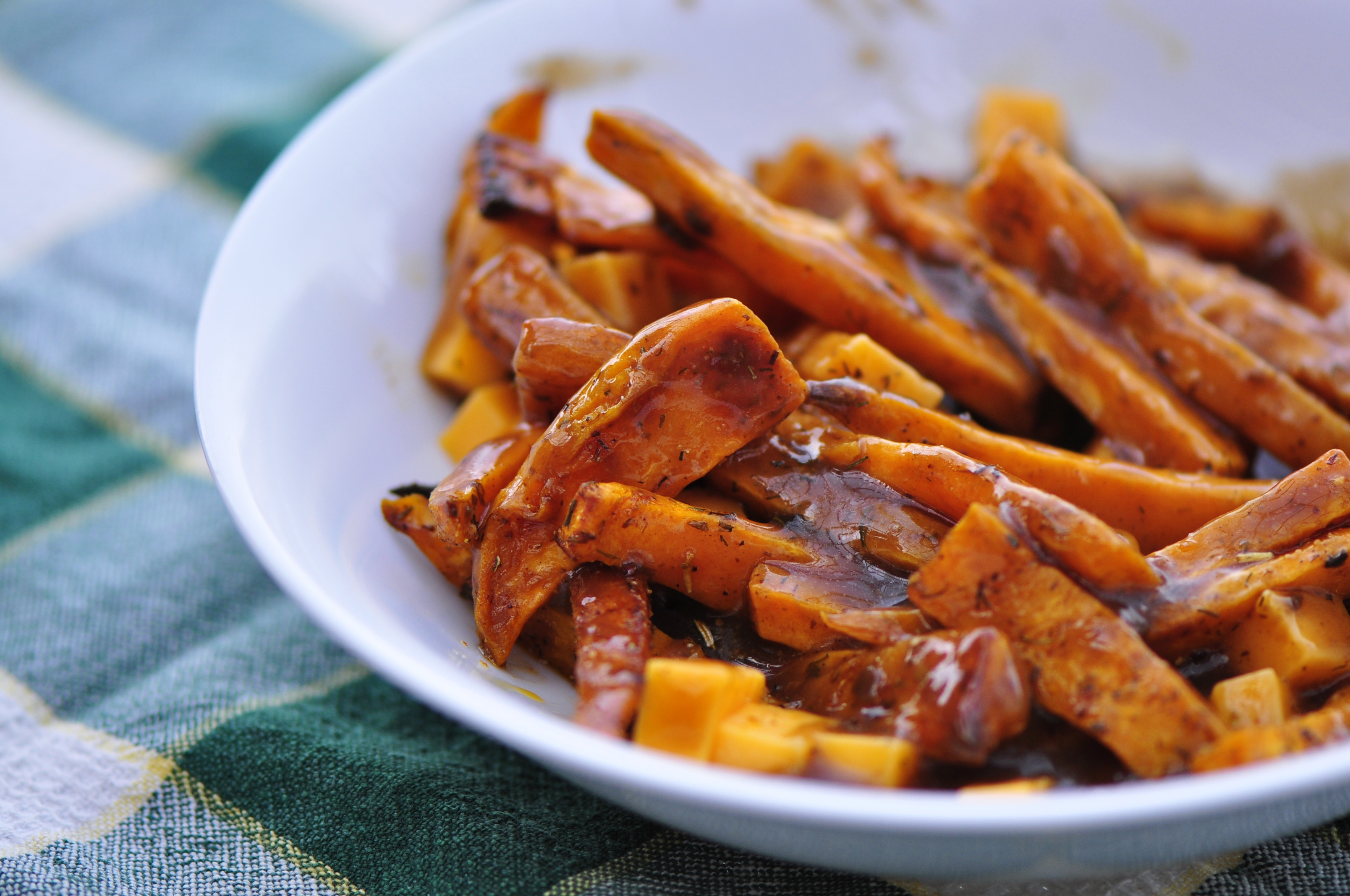 sweet potato poutine canadian food experience project sweet potato ...