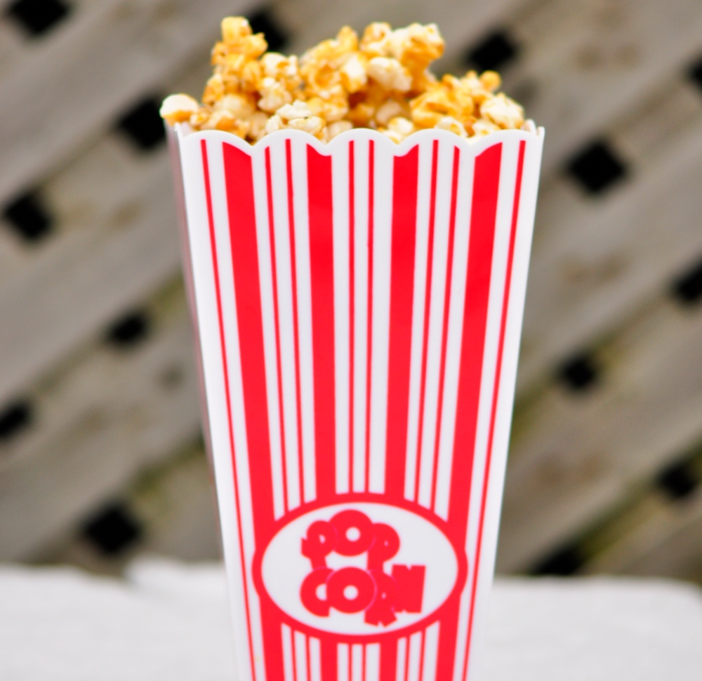 Caramel Popcorn Cropped