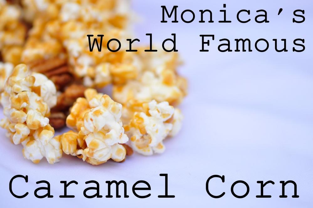 Caramel Corn Text