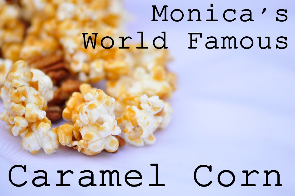 Caramel Corn Text