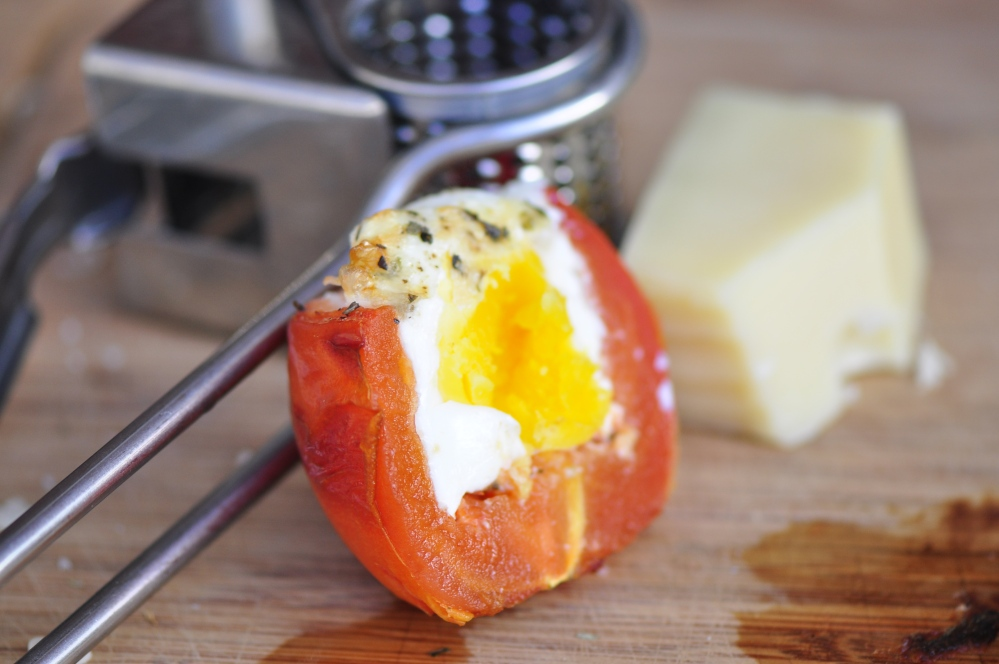 Halved Tomato Egg Cup
