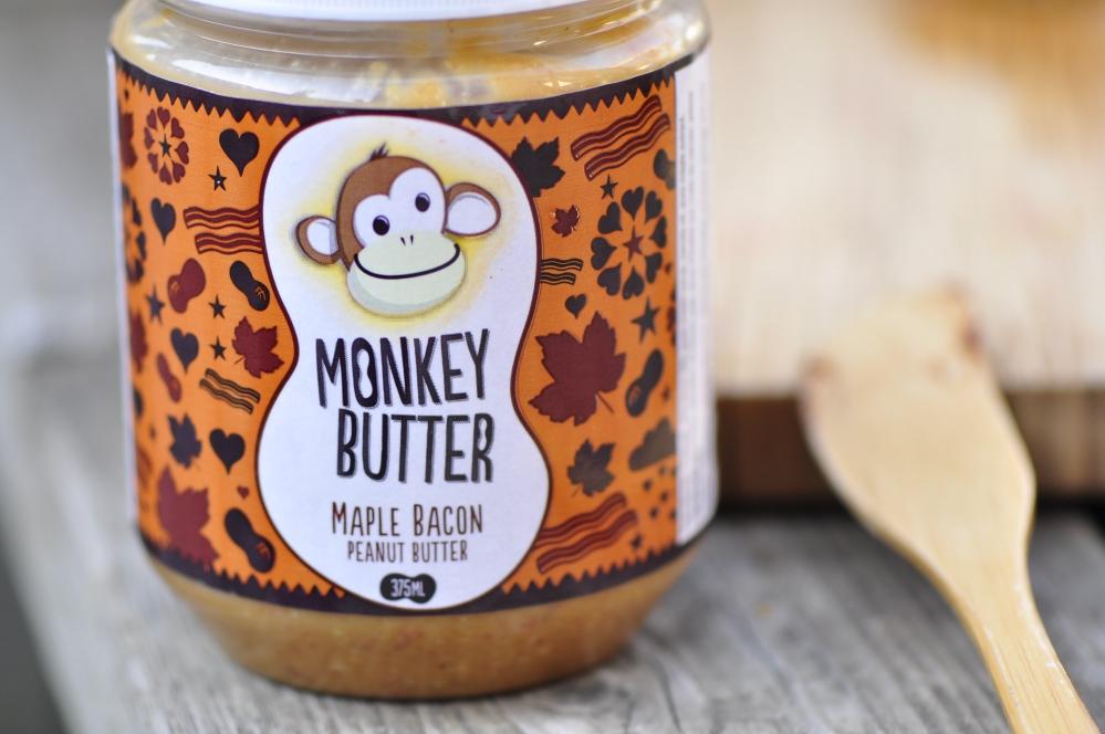 Monkey Butter Maple Bacon