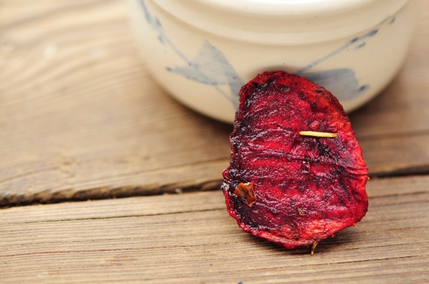 Baked Beet Chip