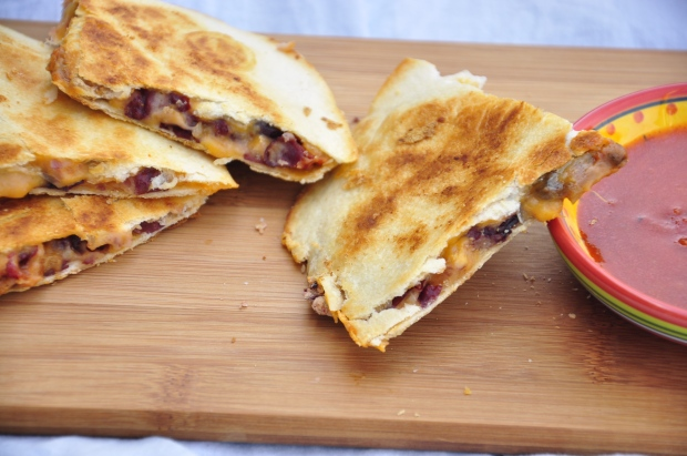 Sundried Tomato and Red Bean Quesadilla