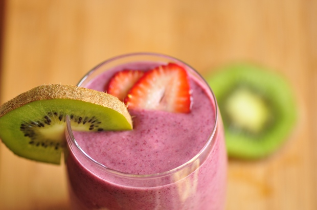 energy boost smoothie – the vegetarian ginger