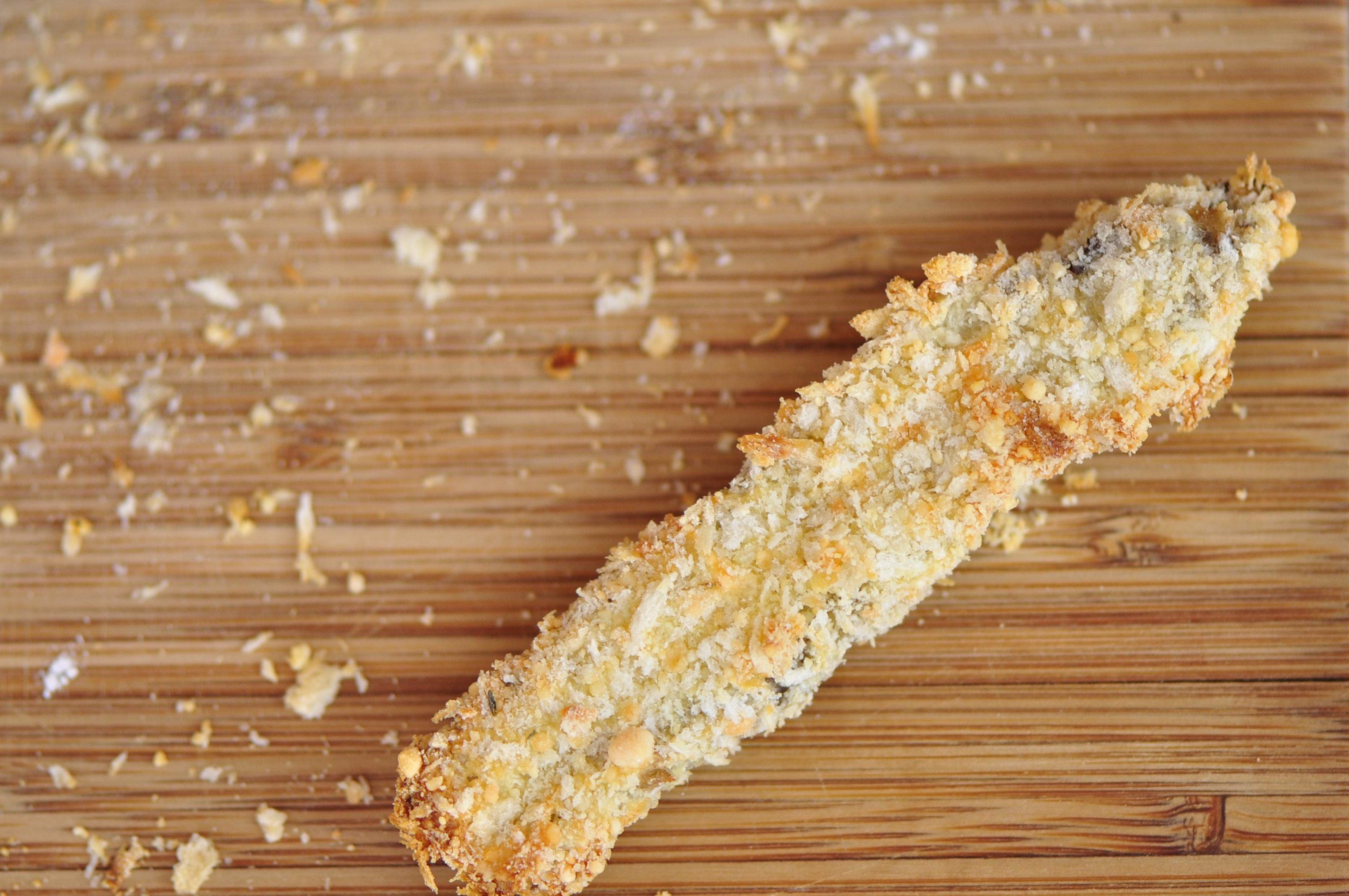 Crispy Baked Portobello Mushroom Fries | the vegetarian ginger