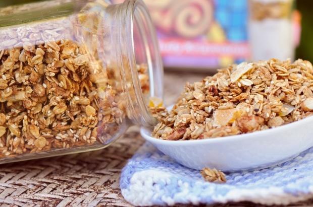 Homemade Maple Granola
