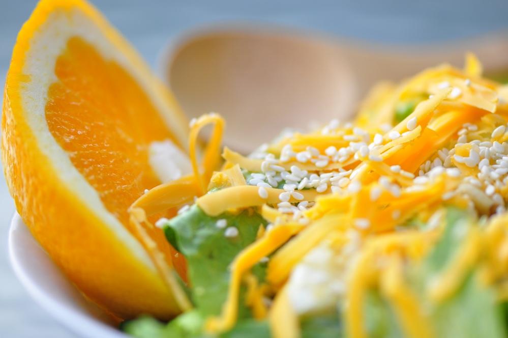 Orange Sesame Salad