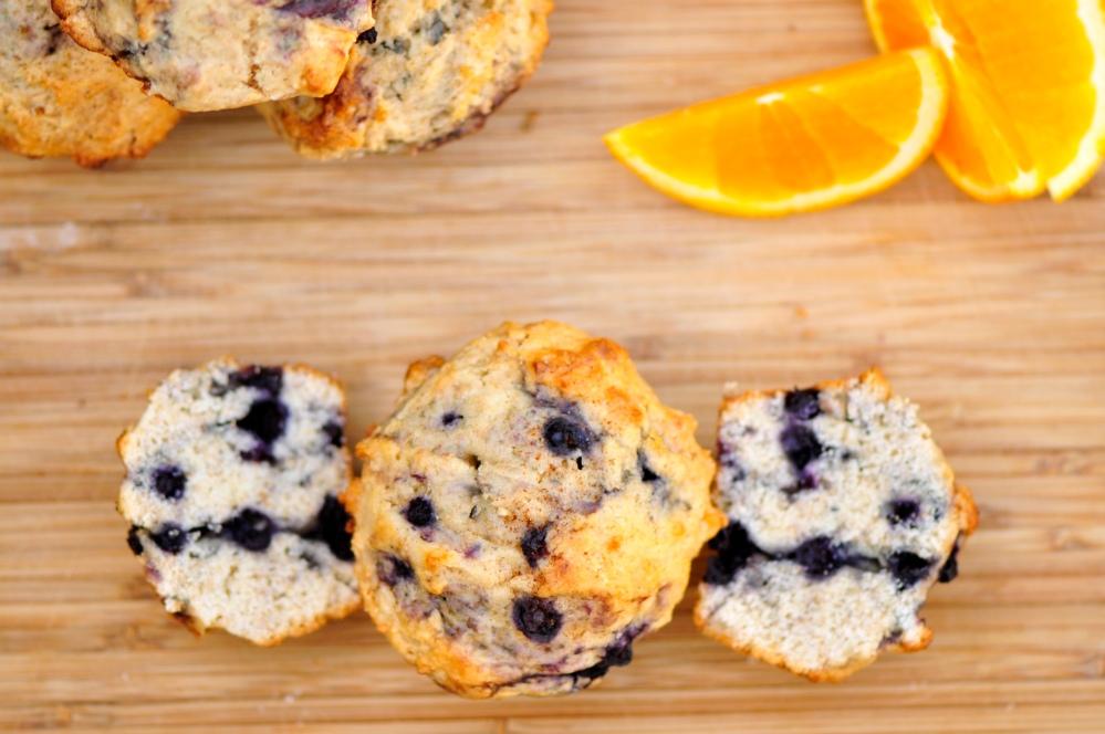 Bird's Eye Blueberry Muffins