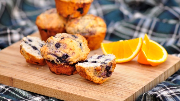 Blueberry Breakfast Muffins