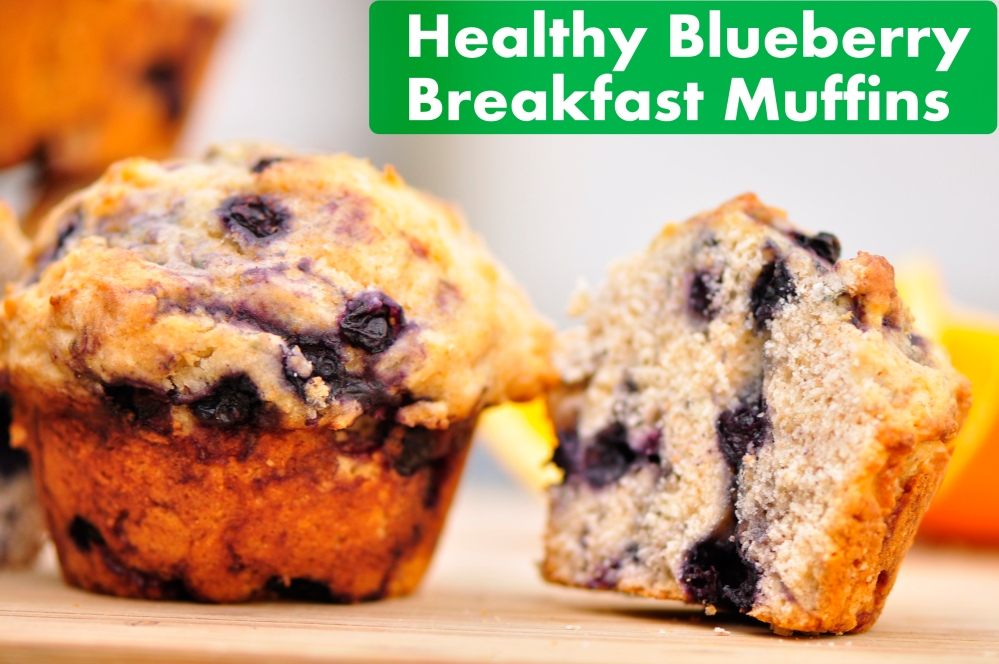 Blueberry Muffin with text