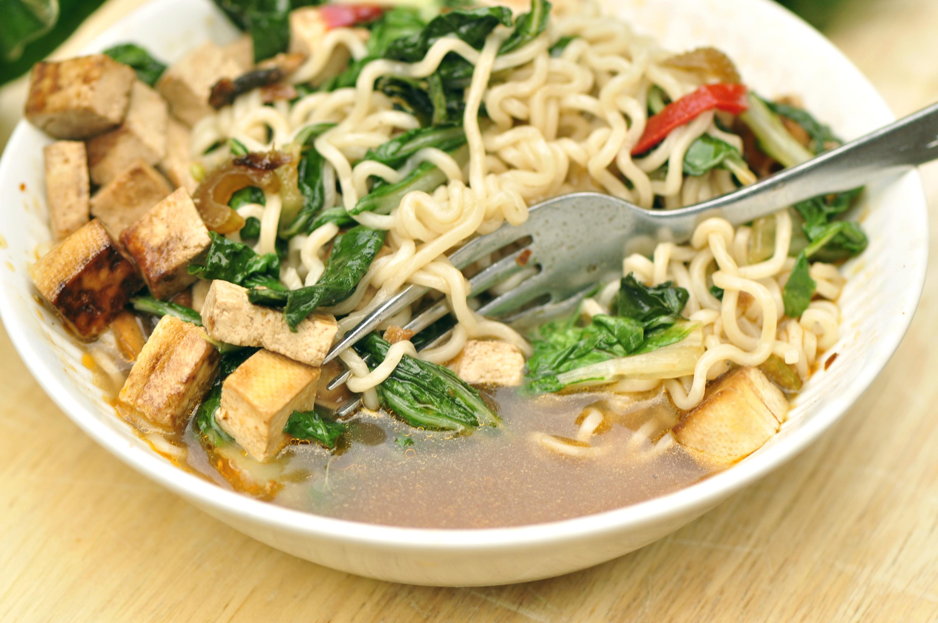 noodlesthe vegetarian ginger