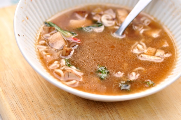 Vegetarian Ramen Broth