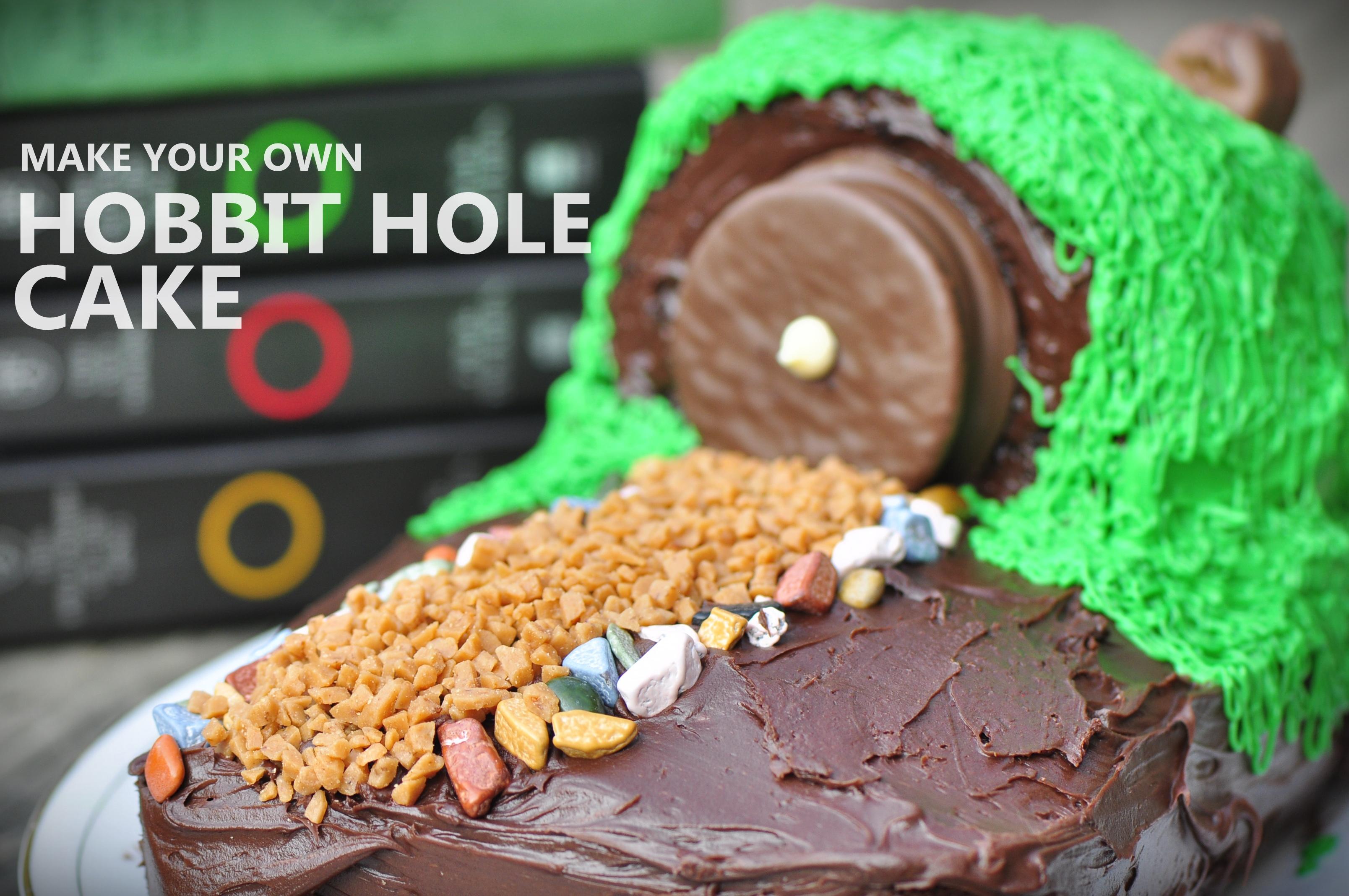 Hobbit Hole Cake The Vegetarian Ginger