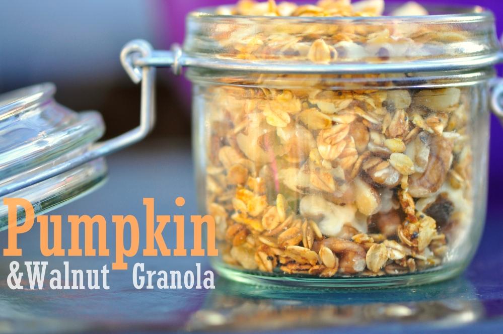 Pumpkin-Walnut Granola