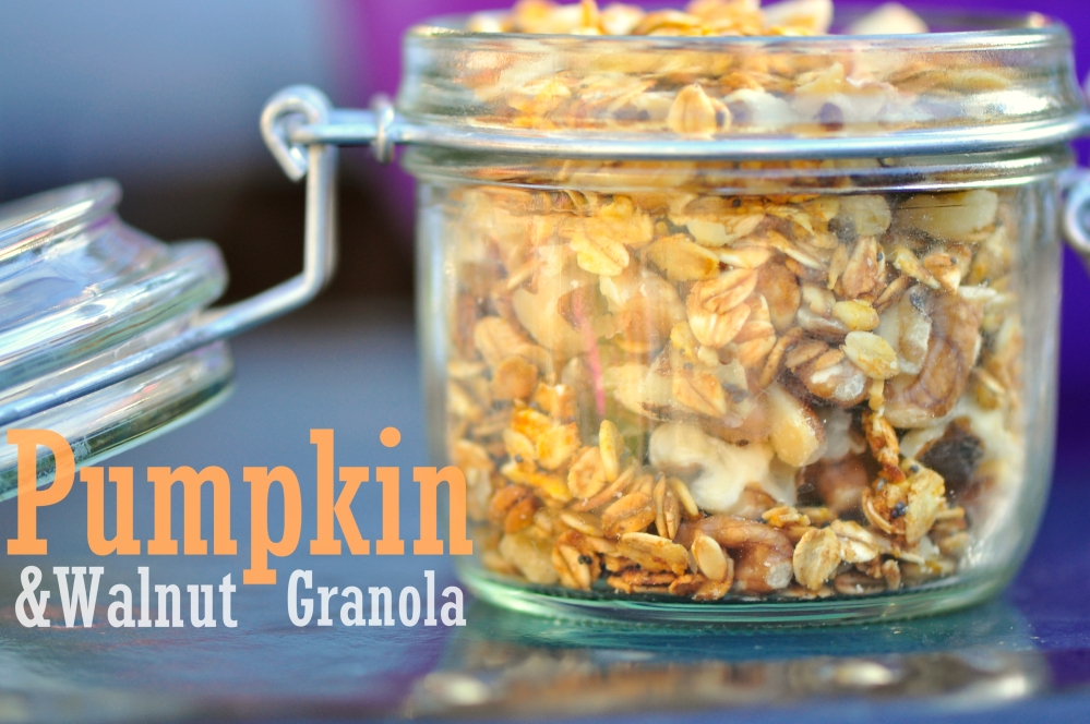 Pumpkin-Walnut Granola