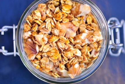 Pumpkin Granola with Walnuts
