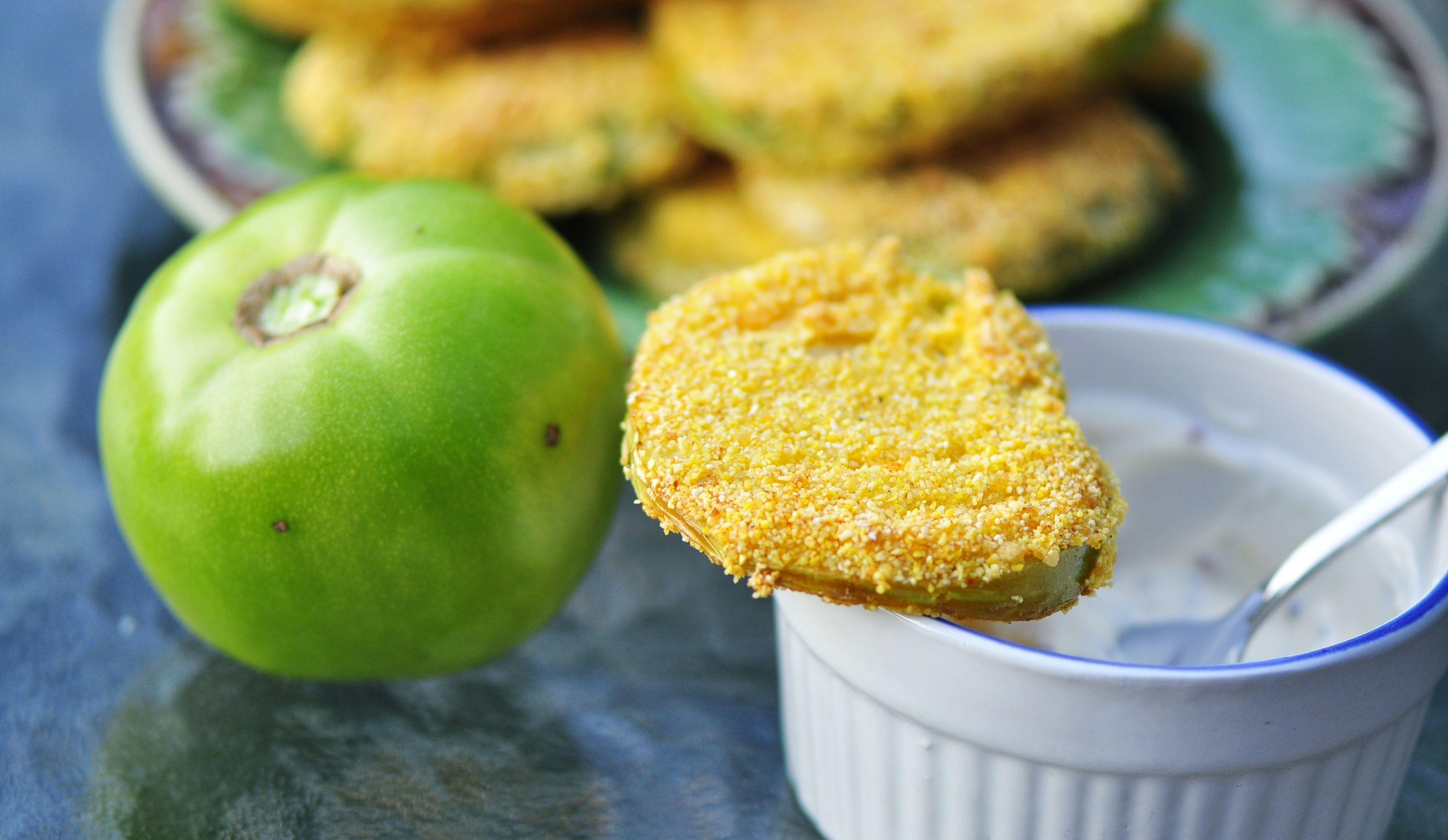 tomatoes and avocado lighter fried green tomatoes green fried tomatoes ...