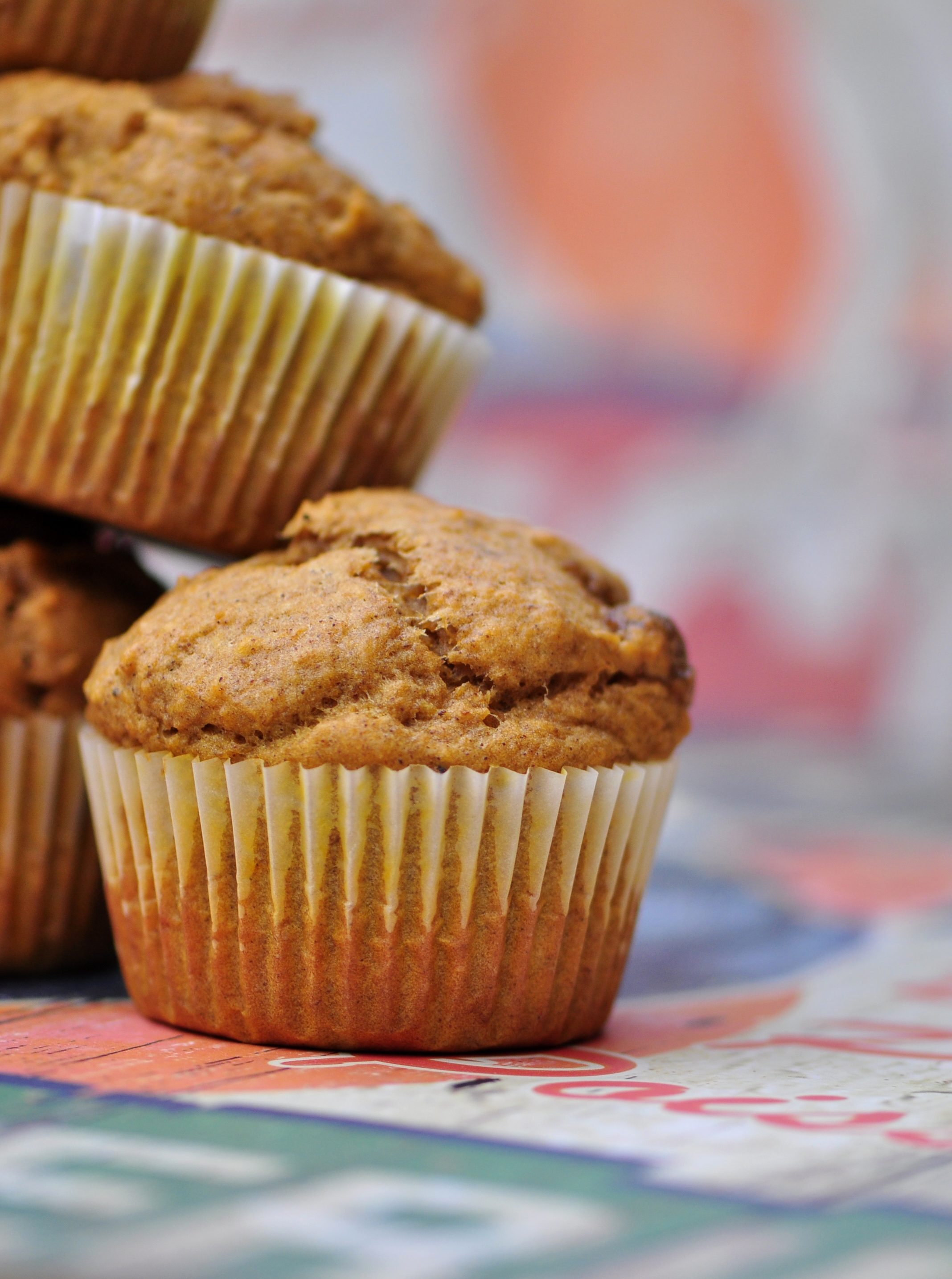 Vegan Almond Tofu and Pumpkin Spice Muffins | the ...