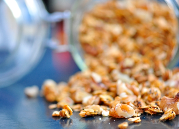 Pumpkin Granola with Walnuts