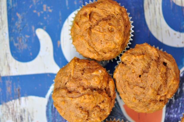Vegan Almond Tofu and Pumpkin Spice Muffins