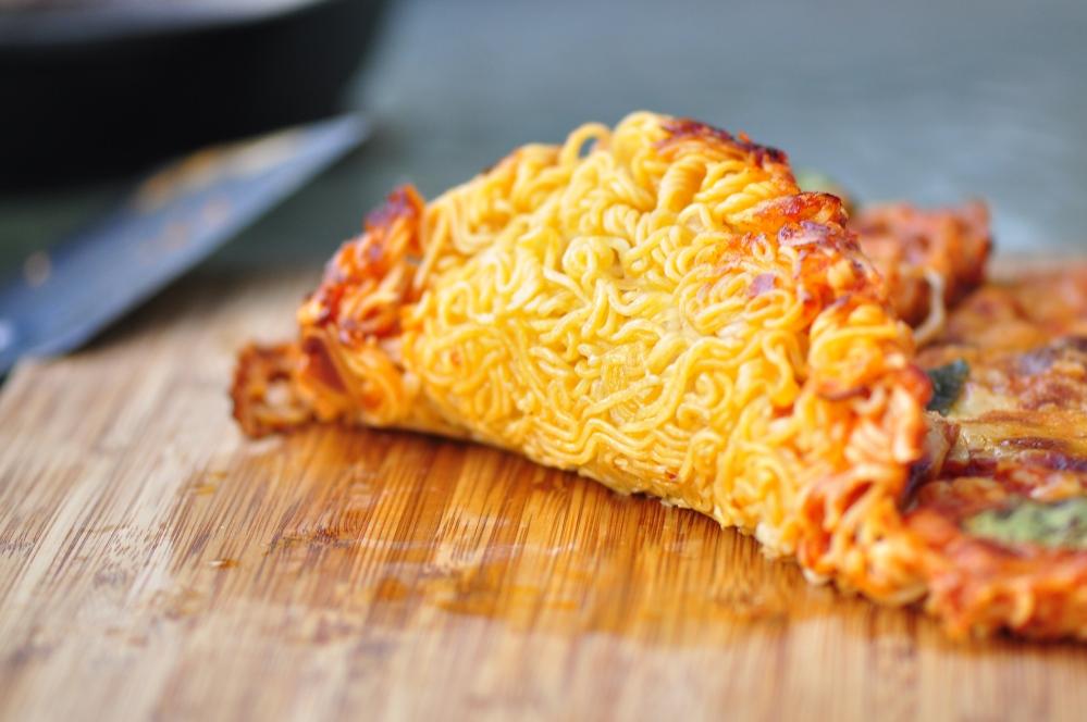 Ramen Pizza Crust