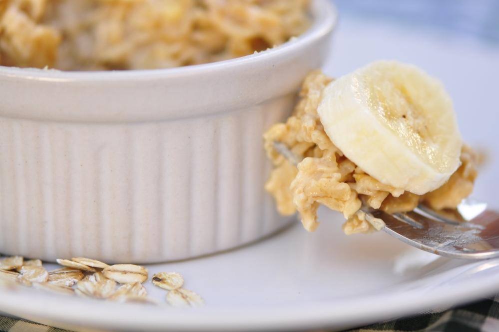 Peanut Butter and Banana Oatmeal