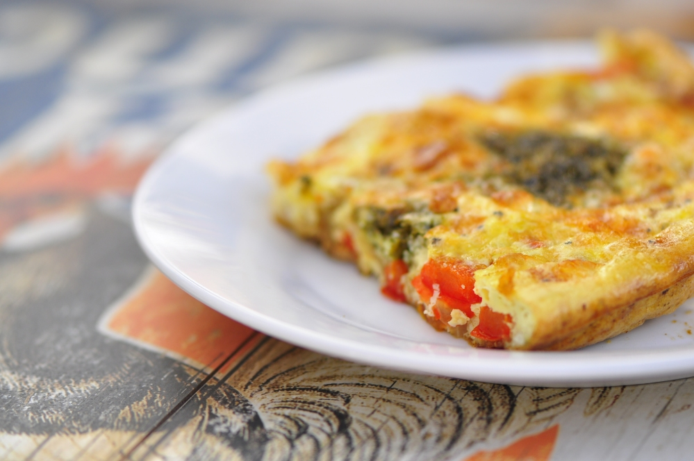 Vegetable Frittata with Tofu