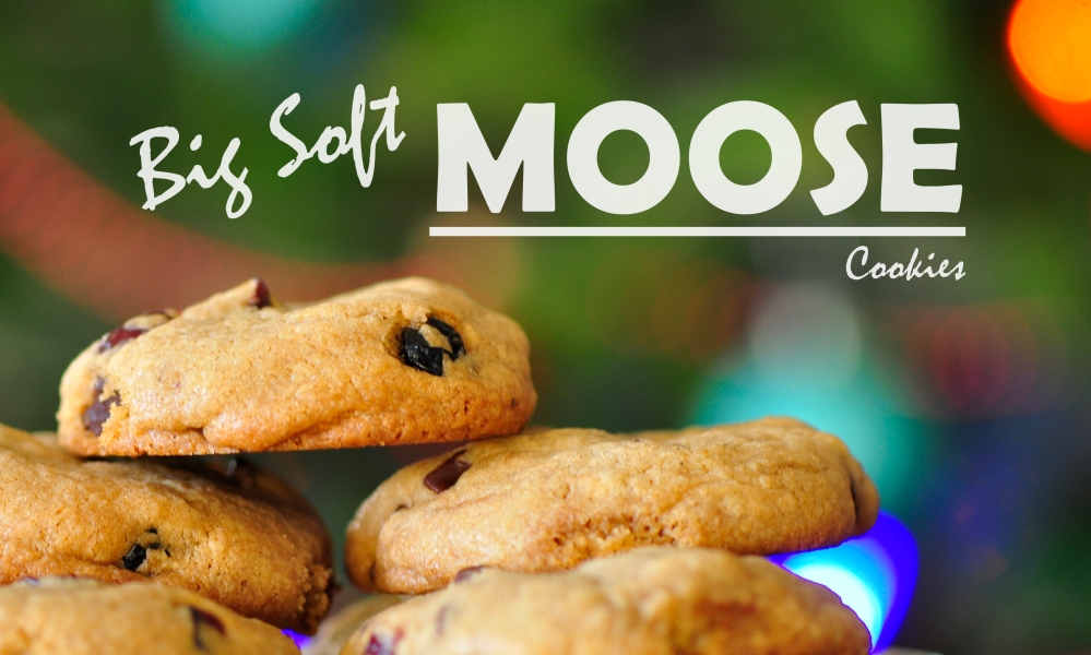 Big Soft Moose Cookies