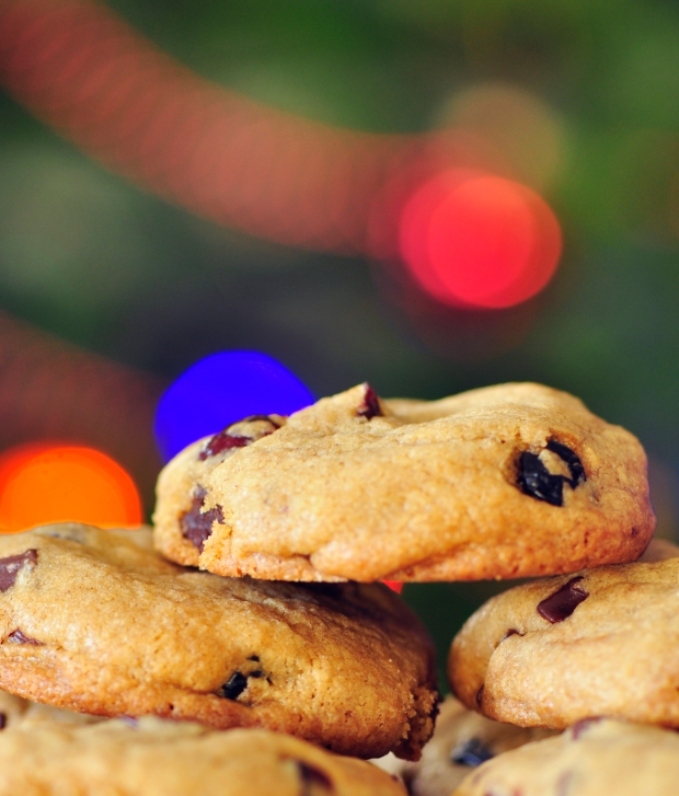 Holiday Chew Cookies
