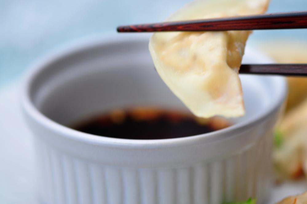 Shiitake and Tofu Dumplings