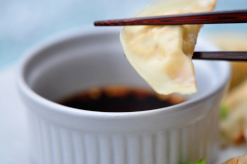 Shiitake and Tofu Dumplings