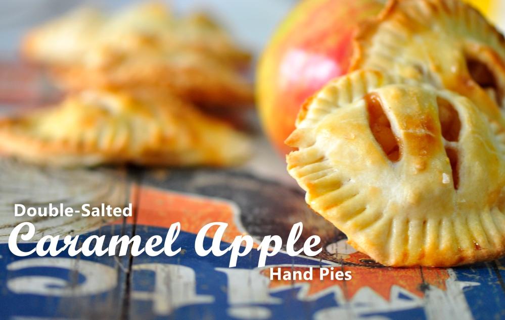 Salted Caramel Apple Hand Pies