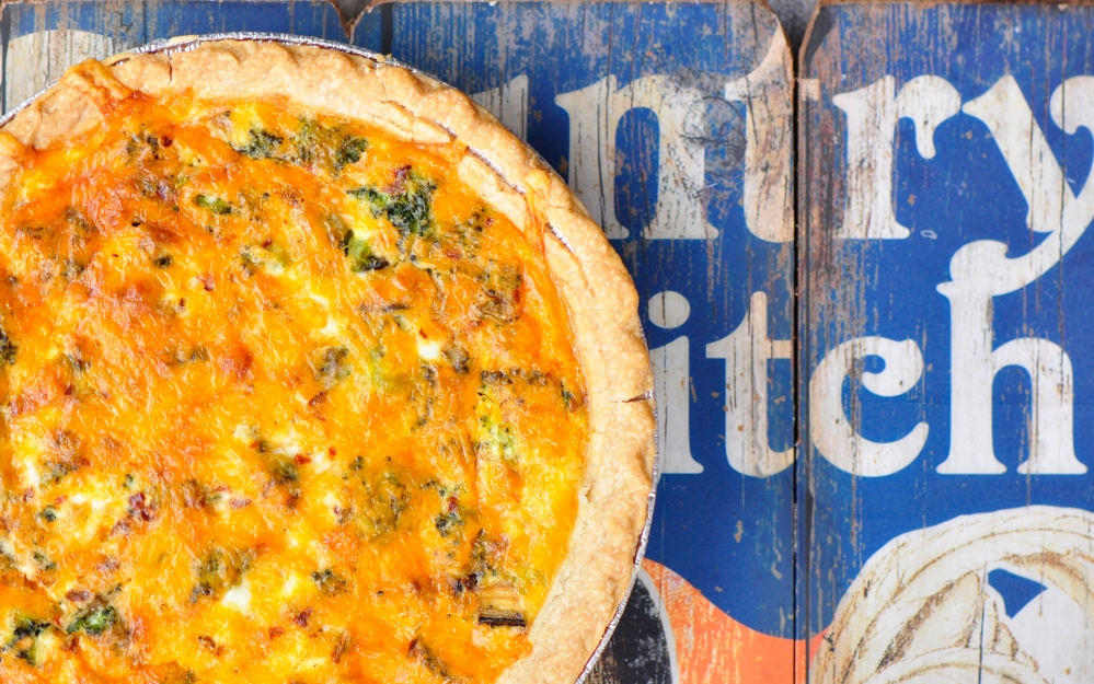 Vegetarian Breakfast Quiche