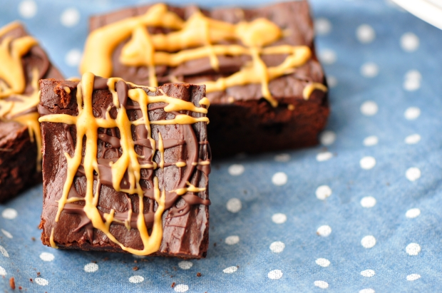 Flourless Peanut Butter Brownies