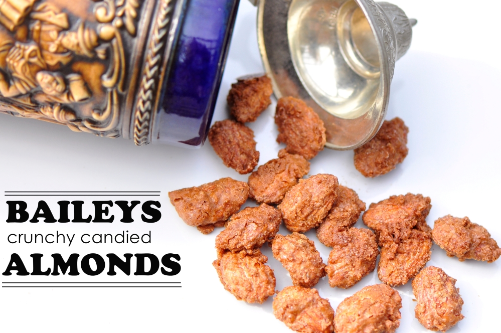 Baileys Crunchy Candied Almonds
