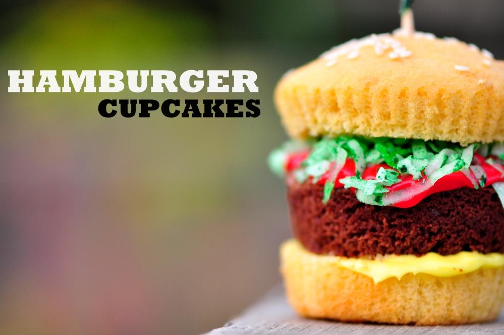 Hamburger Cupcakes