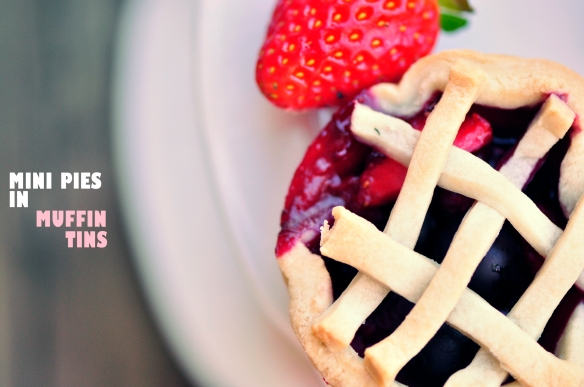 Mini Mixed Berry Pies