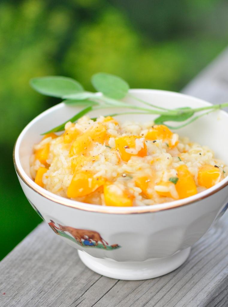 Vegetarian Butternut Squash Risotto